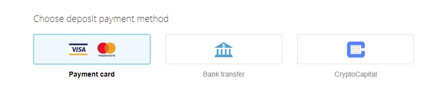 Deposit - CEX.IO